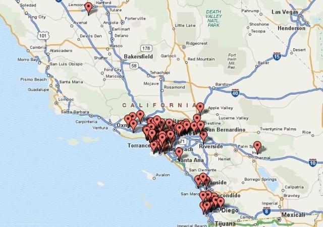 SCEA Member Map