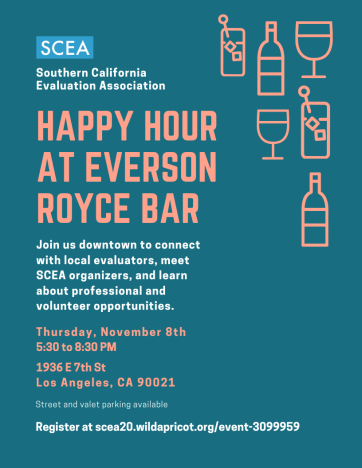 SCEA Fall 2018 Happy Hour Flyer