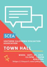 SCEA Town Hall Flyer_Fall 2019
