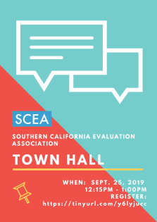 SCEA Town Hall Flyer_Fall 2019