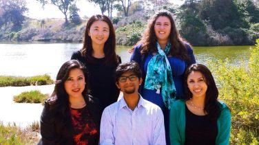 Fematt with UCSB Graduate Students