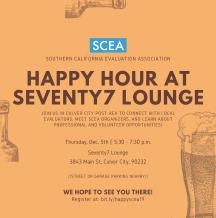 SCEA Fall 2019 Happy Hour Flyer