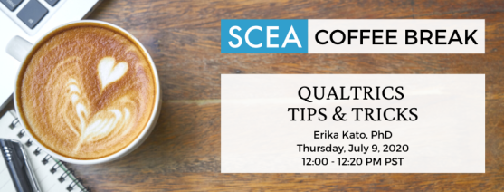 SCEA Coffee Break_ Qualtrics